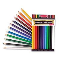 China Jumbo Triangular Colored Pencils - set of 12[MD4119] on sale