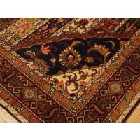 Buy cheap Persian Nomadic Bakhtiari Blue Brown Gold rug 6-5x9-10 from wholesalers