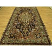 Buy cheap Persian Tribal Navy Ivory Rustic Red Bakhtiari rug 6x10 from wholesalers