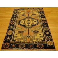 Buy cheap Persian rose navy Ivory Geometric Bakhtiari rug 4-1x6-8 from wholesalers