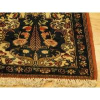 Buy cheap Persian Bakhtiari Handmade wool Tree of Life Rust Gold Peach Blue Red rug 3-7x5 from wholesalers