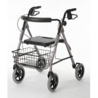 Buy cheap 4 wheels rollator with basket from wholesalers