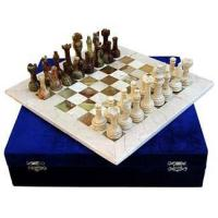 Buy cheap Onyx/Marble Chess Set - Green Boticino from wholesalers