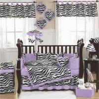 Buy cheap Zebra Purple Baby Crib Bedding Set JoJo Designs from wholesalers