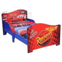 Buy cheap Disney Pixar Cars Wooden Toddler Bed w/ Safe Sleep Rails from wholesalers