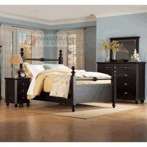 hanna cottage black youth queen full size bedroom set of