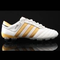 Buy cheap Football Boot Brand Adidas adiPURE III TRX FG Black Gold Soccer Cleats from wholesalers