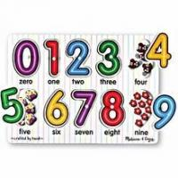 Buy cheap See-Inside Numbers Peg Puzzle from wholesalers