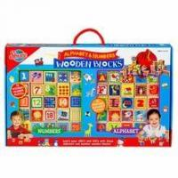 Buy cheap Alphabet & Numbers Wooden Blocks from wholesalers