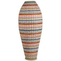 Buy cheap Funstripes Large Woven Rattan Urn in Multi StripesItem #: 113416 from wholesalers