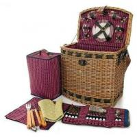 Buy cheap Willow BBQ Picnic Basket w Wicker ConstructionItem #: 38915 from wholesalers