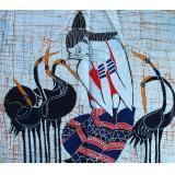 Buy cheap Single batiks - Dancing with Cranes from wholesalers