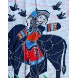 Buy cheap Single batiks - Pastoral Girl from wholesalers