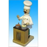 Buy cheap Richard Glaesser Chef Smoking Man - Incense Burner from wholesalers
