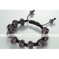 Buy cheap Clay Macrame Bracelet from wholesalers