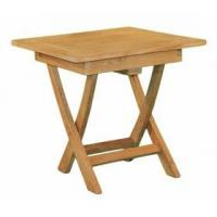 Buy cheap Teak Square Folding Side Table from wholesalers