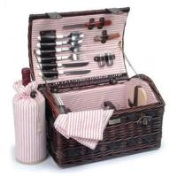 Buy cheap Willow And Seagrass Picnic Basket With Deluxe Service For TwoItem #: 38785 from wholesalers