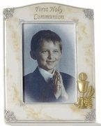 Buy cheap 7.5 Marble Finish First Communion Frame from wholesalers