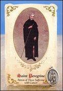Buy cheap St Peregrine (Cancer) Healing Holy Card with Medal from wholesalers