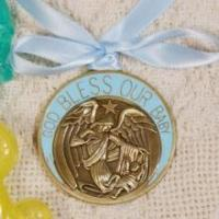 Buy cheap Boys Guardian AngelPersonalizedCrib Medallion from wholesalers