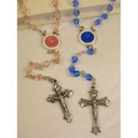 Buy cheap First Communion Silver Plate Rosaries from wholesalers