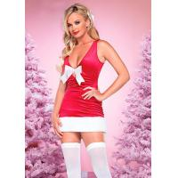 Buy cheap Sexy Lingerie Mini Dress H2206 Red from wholesalers