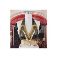 Buy cheap Golden Black Bra For Belly Dance H2629B from wholesalers