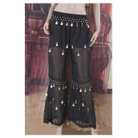 Buy cheap Black Belly Dance Trousers Sequins Beads H2646 from wholesalers