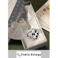 Buy cheap Buy Crystal Dice Keychains for a Glam Bunco Gift! from wholesalers