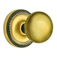 Buy cheap Nostalgic Warehouse New York Knob With Rope Rosette - Mortise Lock from wholesalers
