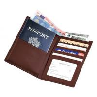 Buy cheap Leather Travel Wallet w Passport & Currency PocketsItem #: 95147 from wholesalers