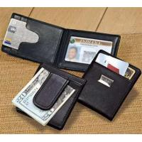 Buy cheap Personalized Greek Letter Leather Wallet Money Clip in BlackItem #: 228355 from wholesalers