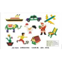 Buy cheap plastic preschool blocks toy JQ1024 from wholesalers