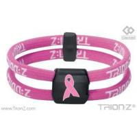 Buy cheap Pink Ribbon Wristbands from wholesalers