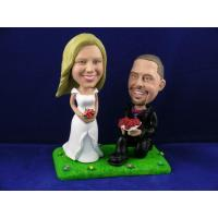 Buy cheap Groom on Bent Knee Cake Topper Bobbleheads from wholesalers