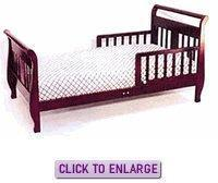 Buy cheap Sleigh Toddler Bed by Angel Line from wholesalers
