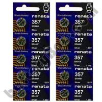 Buy cheap Renata 357 SR44W - 2 Packs of 5 BatteriesSKU: 102311 from wholesalers