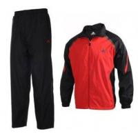 Buy cheap Adidas Training Suit in Red and Black from wholesalers