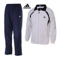 Buy cheap Mens Adidas Training Suit in White from wholesalers