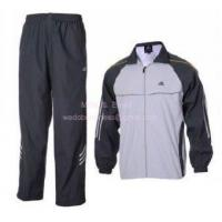 Buy cheap Adidas Training Suit in White and Grey from wholesalers