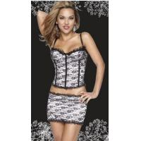 Buy cheap Mesh Embroidered Corset,YC1048-1 product