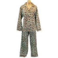 Buy cheap PJ Salvage Plus Size Leopard Flannel Pajama from wholesalers