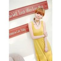 Buy cheap 1189 small hollow sexy casual dress vest - yellow from wholesalers