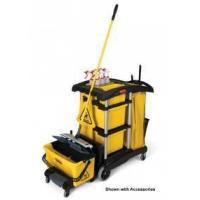 Buy cheap 9T73 Hygen Microfiber Janitor Cleaning Cart from wholesalers