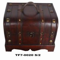 Buy cheap wooden treasure chest from wholesalers