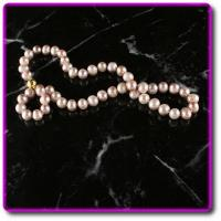 Buy cheap Pink Akoya Cultured Pearl Necklace from wholesalers