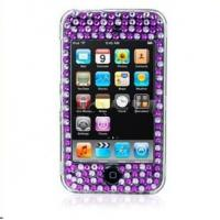Buy cheap Promotional Bling Case Purple Zebra CRYSTAL BLING CASE FOR iPOD TOUCH 2G 3G from wholesalers