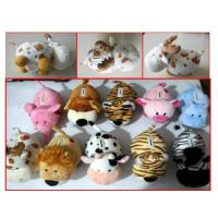 Buy cheap K4103 plush animal coin bank stocks from wholesalers
