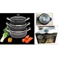 Buy cheap A3119 6pcs pot set stocks from wholesalers