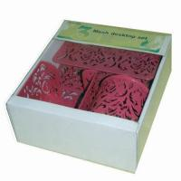 Buy cheap 3pcs carved set product